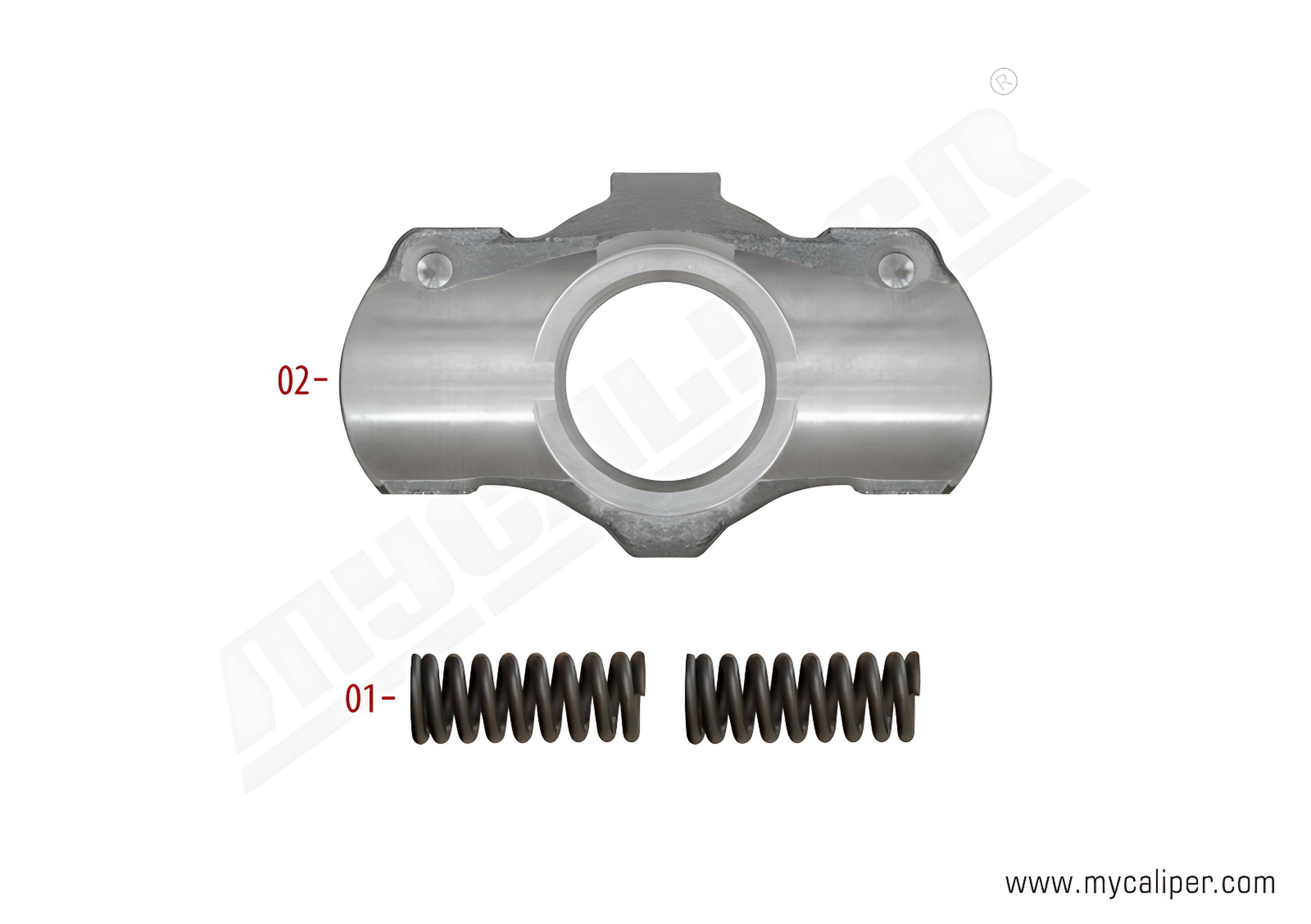 Caliper Adjusting Mechanism Support