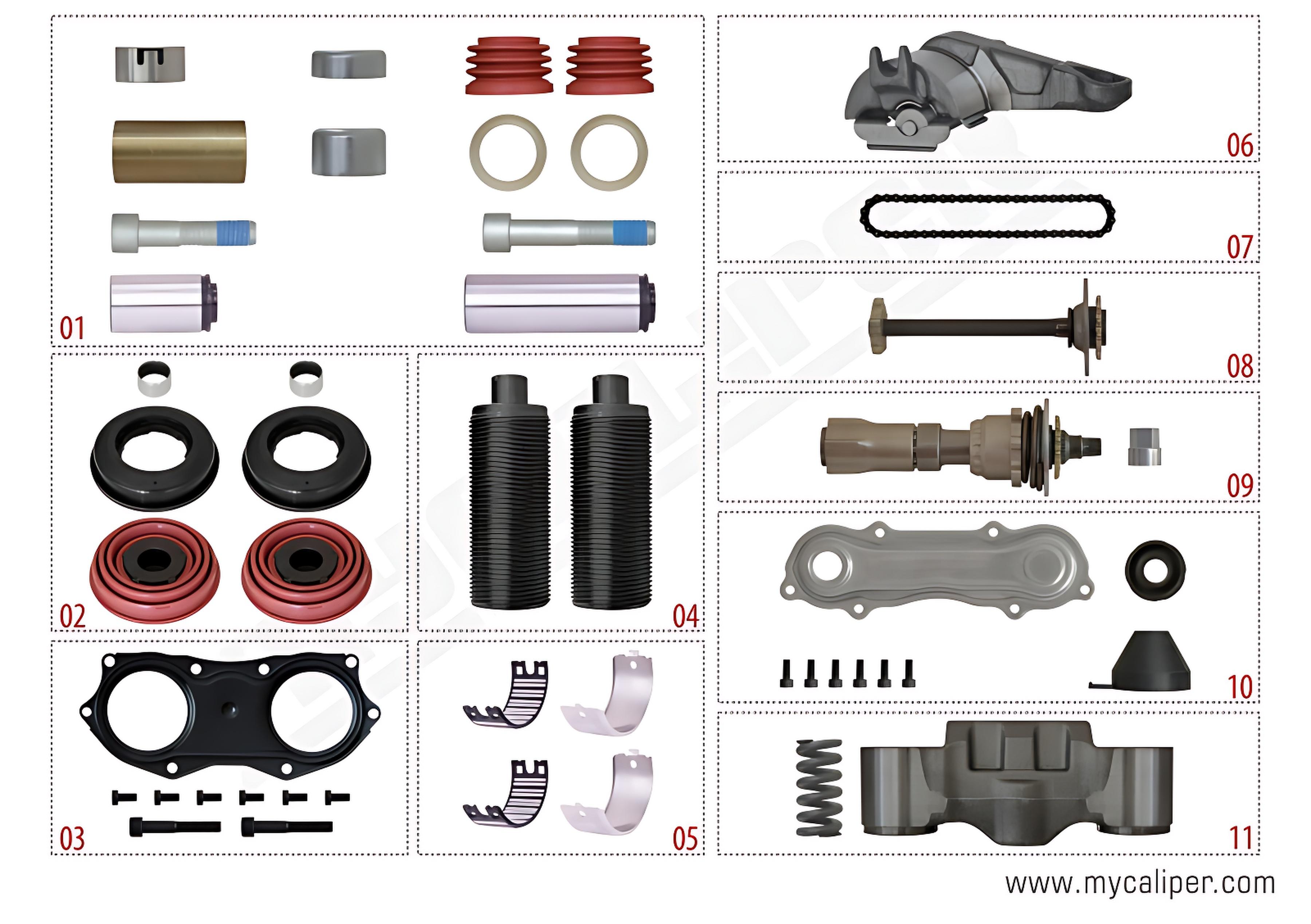 SCHMITZ Repair Kit