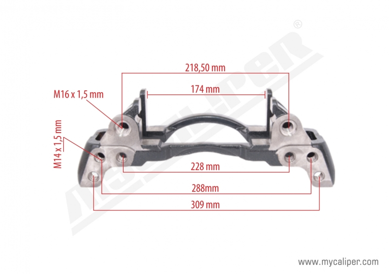 12-160 TGL MAN Caliper Carrier Right-Left