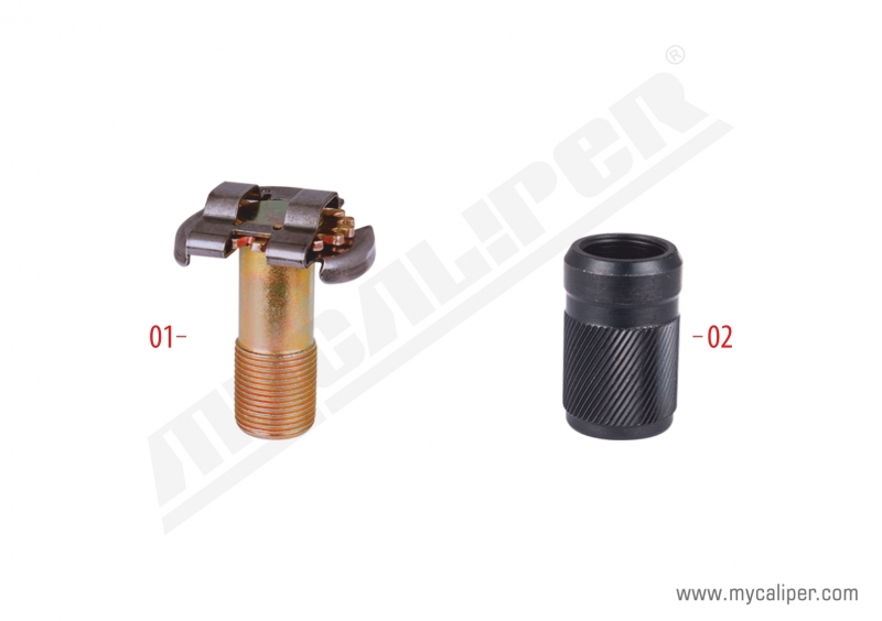 Brake Adjusting Bolt & Bush (Thin Teeth)