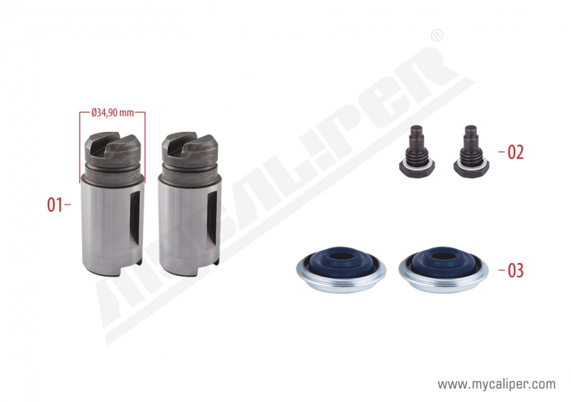 Brake Adjusting Repair Kit (Right)