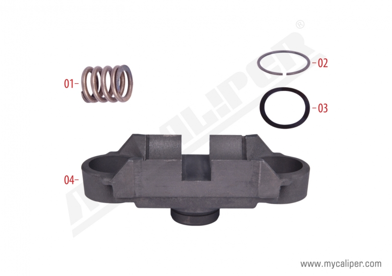 Caliper Bridge Assembly Repair Kit 92909