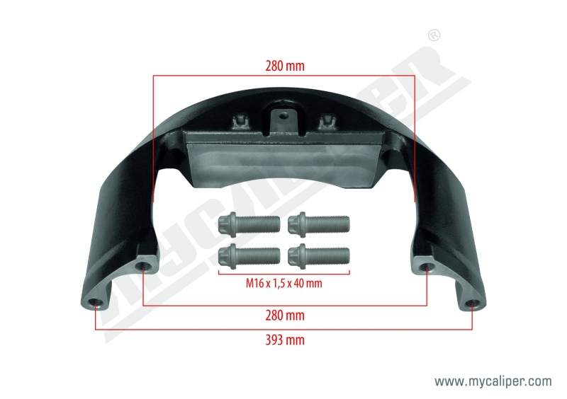 Caliper Bridge Kit (RENAULT 440 / VOLVO 460)