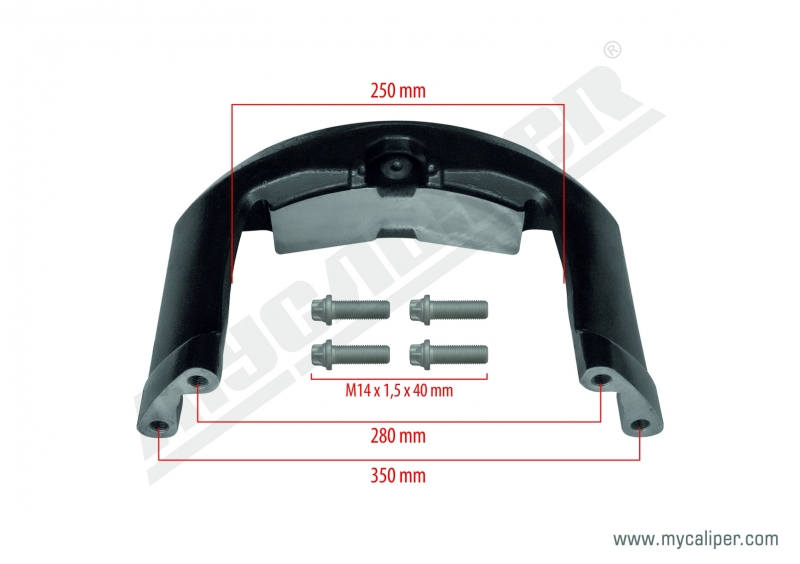 Caliper Bridge Kit (ROR Axle)