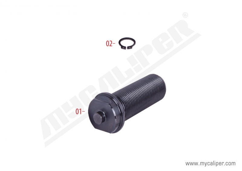Caliper Calibration Bolt (For Push Plate)