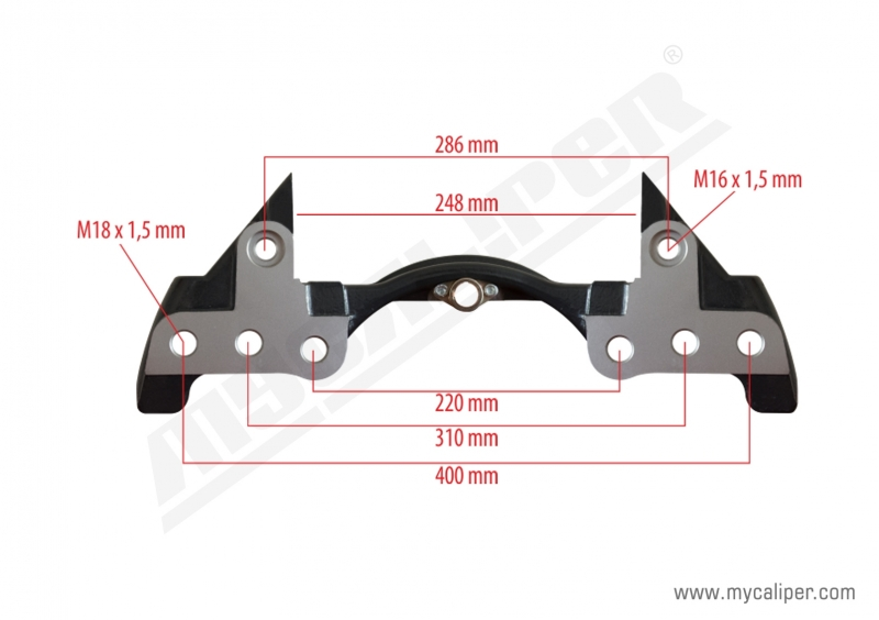 Caliper Carrier For BPW Axle