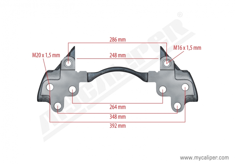 Caliper Carrier For Iveco Truck