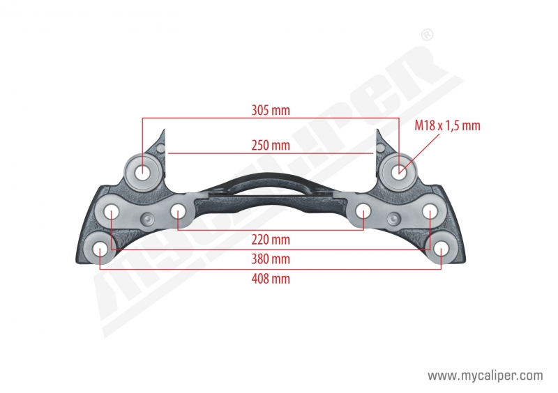 Caliper Carrier For ROR Axle