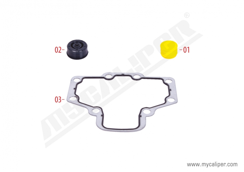 Caliper Gasket & Seals Repair Kit