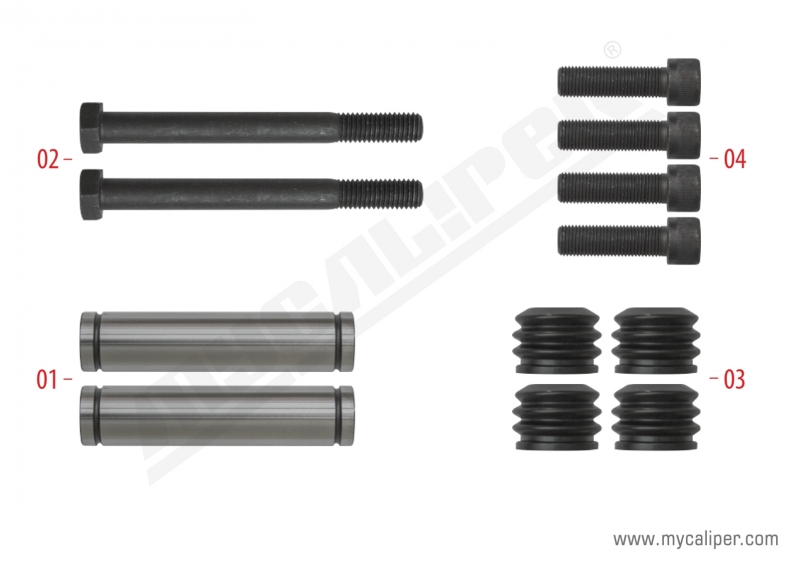 Caliper Guide Pin Repair Kit