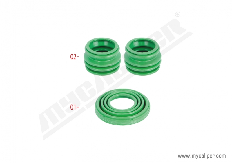 Caliper Seals & Boots Repair Kit