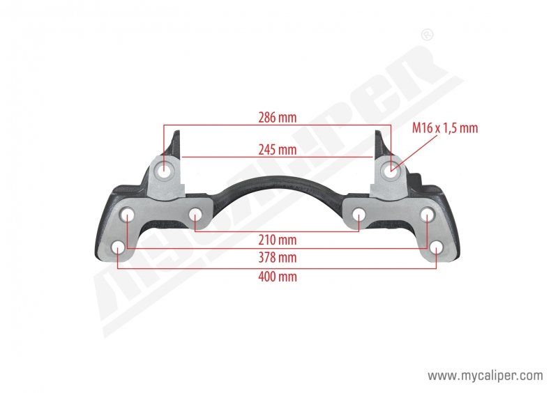 Knorr Caliper Carrier 22,5 Inch Right & Left
