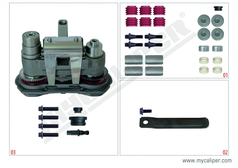 Modul X-GEN 1 Repair Set