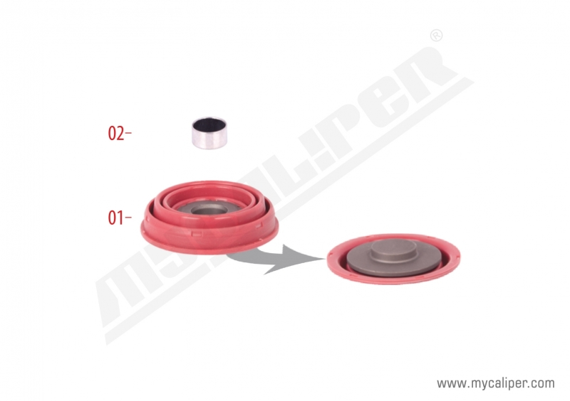 Caliper Piston Tappet Repair Kit