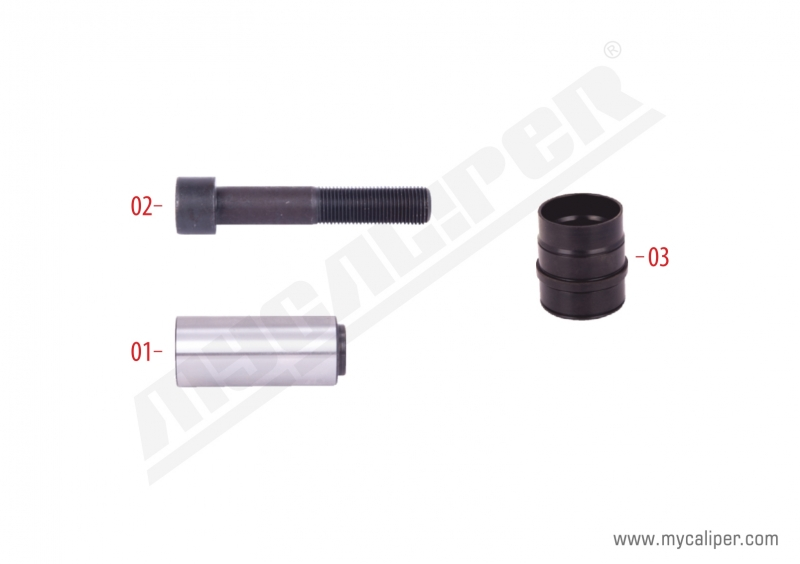Caliper Rubber Bush & Guide Repair Kit