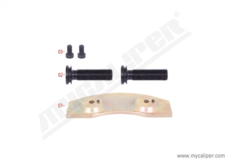 Caliper Push Plate Repair Kit (Right)