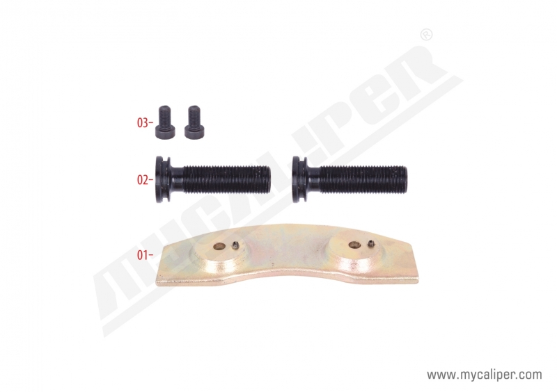 Caliper Push Plate Repair Kit (Left)