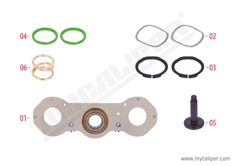 Caliper Adjusting Mechanism Repair Kit (Right)